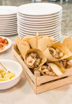 Hotel Moderna cena foto buffet Fritto di pesce e contorni misti