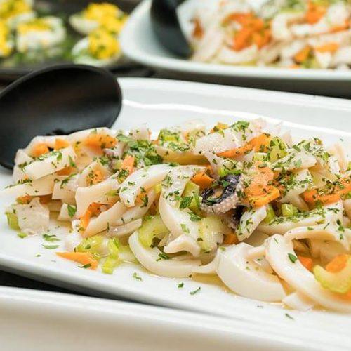 Hotel Moderna cena foto buffet antipasti di pesce